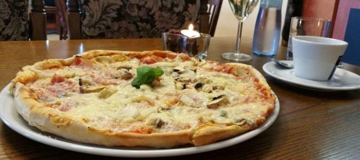 Pizzérie a vinotéka u Gymplu