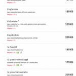 Pizza Coloseum Avion Ostrava Menu 2