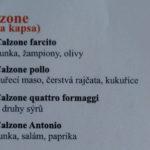 Pizzeria Antonio Olomouc Menu 4