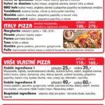 Deli Pizza Pardubice Menu 1