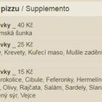 Pizza Premiera Zlin Menu 3