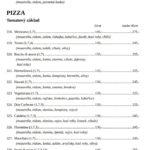 Pizzerie Domino Beroun Menu 2