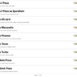 Turbo Pizza Beroun Menu 3