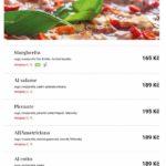Pizza Coloseum Budějovická Praha Menu 1