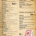 Pizza Fantasia Liberec Menu 1
