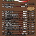 Pizza San Daniello Tabor Menu 1