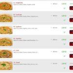 Pizza Pertutto Prerov Menu 1