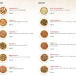 Pizzeria Fresco Praha Menu 1