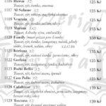 Pizzeria Istria Sumperk Menu 2