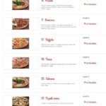 Pizza Klecany La Locanda Klecany Menu 6