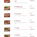 Pizza Klecany La Locanda Klecany Menu 8