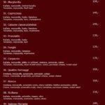 Restaurace A Pizzeria Sofra Praha Menu 1