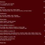 Restaurace A Pizzeria Sofra Praha Menu 3