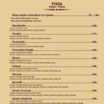 Pizzerie Lipno Lipno Nad Vltavou Menu 1
