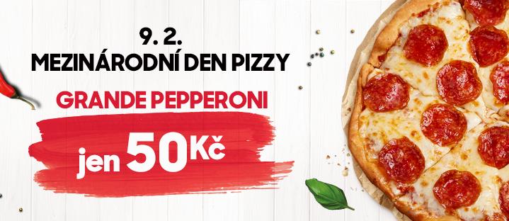 Mezinárodní den pizzy 2019!