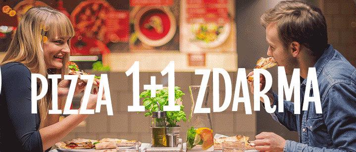 AKCE: Pizza 1+1 ZDARMA – 360Pizza Praha