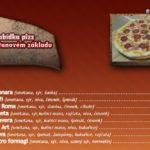 Pizza Art Ústí Nad Orlicí Menu 2