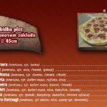 Pizza Art Litomyšl Menu 2