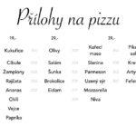 Pizzerie Una Klášterec Nad Ohří Menu 2