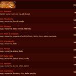 Ristorante Pizzeria Del Corso Praha Menu 1