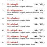 Pizza Nonstop Praha Menu 1