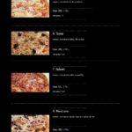 Pizza Presto Mníšek Pod Brdy Menu 2