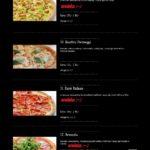 Pizza Presto Mníšek Pod Brdy Menu 3