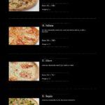 Pizza Presto Mníšek Pod Brdy Menu 4