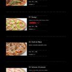 Pizza Presto Mníšek Pod Brdy Menu 6