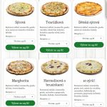 Špizza Pizza Boskovice Vyškov Uhersky Brod Mohelnice Menu 5