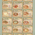Pizzeria Cappone Karlovy Vary Menu 2
