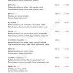 Restaurace Adria Semily Menu 2