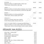 Restaurace Adria Semily Menu 3