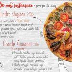 Suzies Pizzeria Restaurace Brno Menu 3