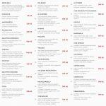 Pizzeria Manna Praha Menu 1