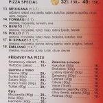 Pizza Benito Mlada Boleslav Menu 2