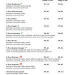 Pizza Borsalino Praha Menu 1