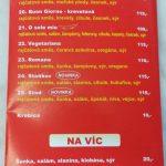 Pizza Kebab Martinská Holýšov Menu 2