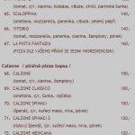 Pizzeria Restaurant La Piota Sušice Menu 2
