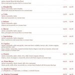 Pizzeria Vendemaria Praha Menu 1