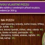 Pizzeria Il Pinocchio Praha Menu 2