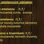 Restaurace U Benešů Vyškov Menu 3
