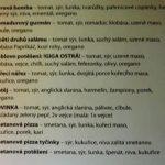 Archa Bar Pizzerie Holešov Menu 2