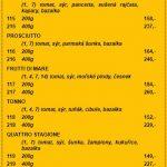 Pizzerie Terrazza Blansko Menu 2