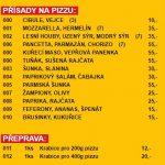 Pizzerie Terrazza Blansko Menu 4