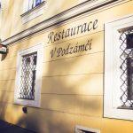 Restaurace V Podzámčí Holešov 1