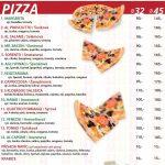 Pizza Kebab Haje Praha Menu 1