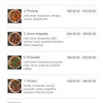 Pizzeria Milano Frýdek Místek Menu 1