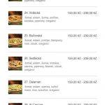 Pizzeria Milano Frýdek Místek Menu 3