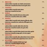 Pizzerie Redflower Praha Menu 2